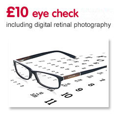 £10 Eye check