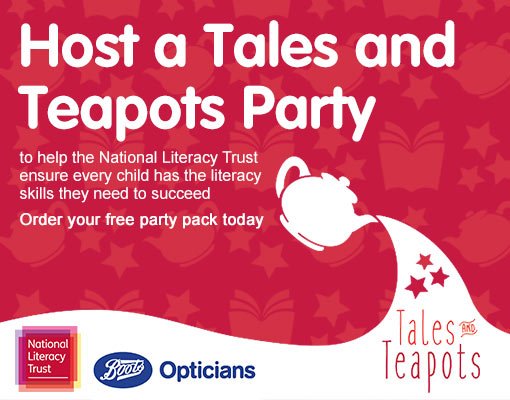 Host a Tales and Teapots Party