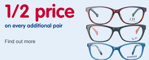 Half price additional pairs