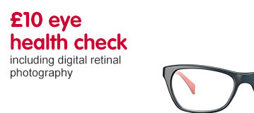 £10 eye health check