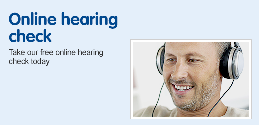 Online hearing check