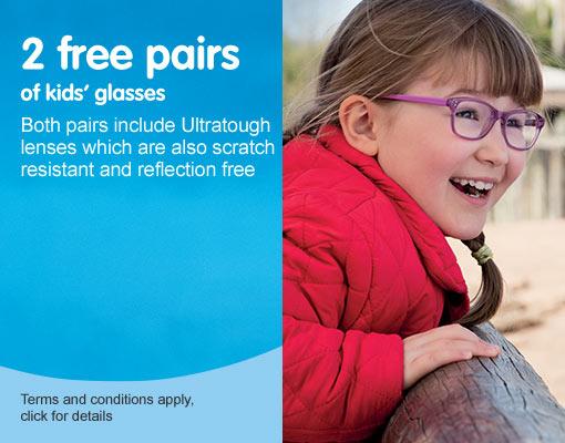 Kids' 2 pairs free
