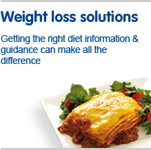 Weight loss solutions, getting the right diet information and guidance can make all the difference
