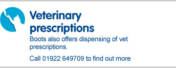 Veterinary prescriptions