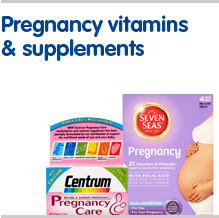 Pregnancy vitamins and supplements