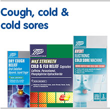 Cough, cold and cold sores