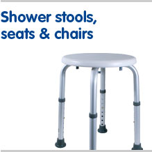 Shower stools seats and chairs