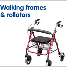 Walking frames and rollators