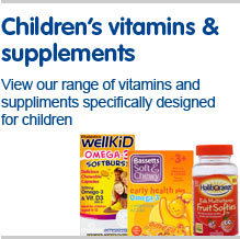 Children's vitamins and supplements, veiw our range of vitamins and supplements s