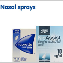 Stop smoking nasal sprays