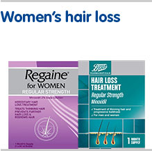 Womens health hair loss