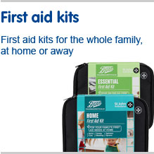 First Aid Kits for the whole family, at home or away
