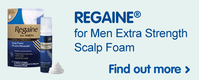 Regaine for Men Extra Strength Scalp Foam