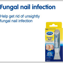 View our full range of products to help fungal nail infections. Help get rid of unsightly fungal nail infection
