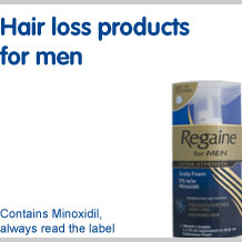 View our full range of hair loss products for men