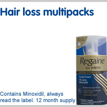 View our full range of hair loss multipacks