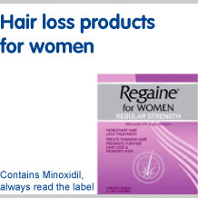 View our full range of hair loss products for women