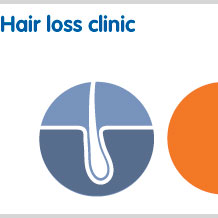 Hair loss clinic for prescription only treatment without visiting a doctor