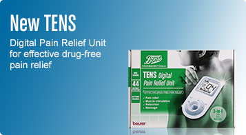 New tens digital pain relief unit for effective drug free pain relief