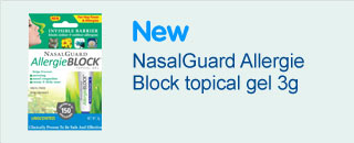 new nasal guard allergie block topical gel 3g