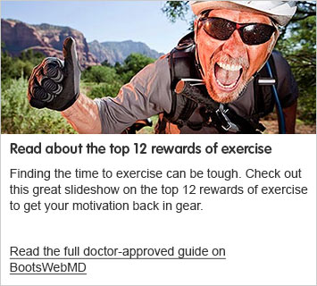 Read about the top 12 rewards of exercise
