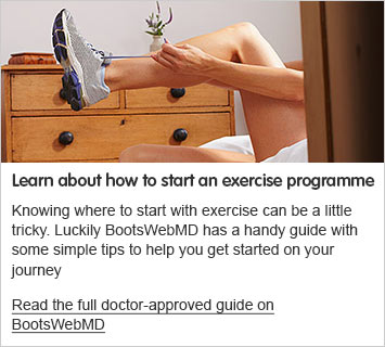 Learn how to start an exercise programme