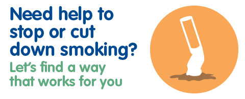 Need help to stop or cut down smoking?