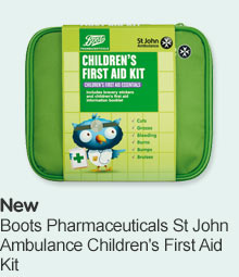 Boots Pharmaceuticals St John's Ambulance Children's First Aid Kit