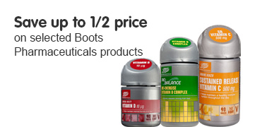 Save 50% on BP Vitamins