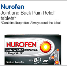 Nurofen Joint and Back Pain Relief