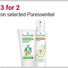 3 for 2 on selected Puressentiels