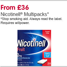 Nicotinell Multipacks
