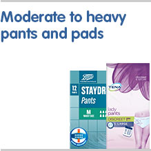 Moderate to heavy pants and pads