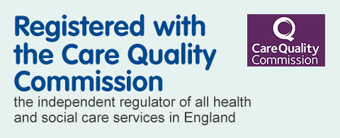 Registered with the Care Quailty Commission