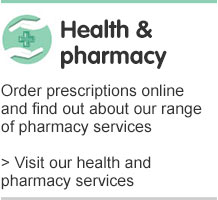 Health and pharmacy services