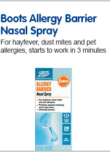 Boots Allergy Barrier Spray
