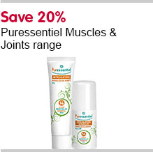 Save 20% on Puressentiels Muscle and joint range
