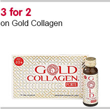 3 for 2 on Gold Collagen Forte