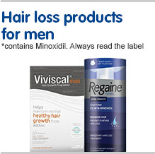 Hair loss products for men