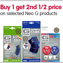 Buy One Get Second Half Price selected Neo G