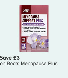 Boots Menopause plus