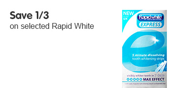 Save 1/3 on selected Rapid White