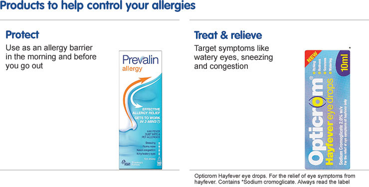 Products to help control your allergies