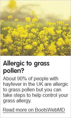 Allergic to grass pollen