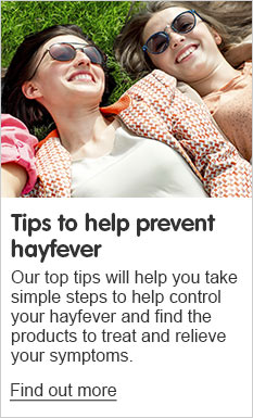 Tips to prevent hayfever
