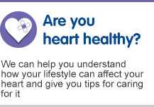 Healthy heart check