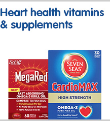 Heart health vitamins and supplements