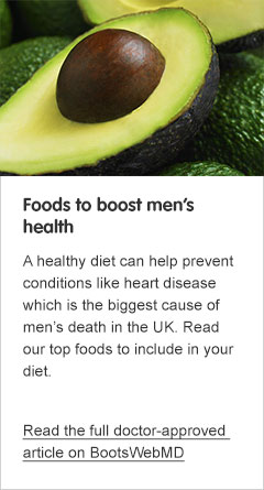 Foods to boost mens health
