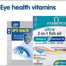 Eye health vitamins