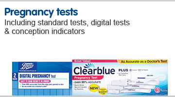 Pregnancy test including standard tests, digital tests & conception indicators